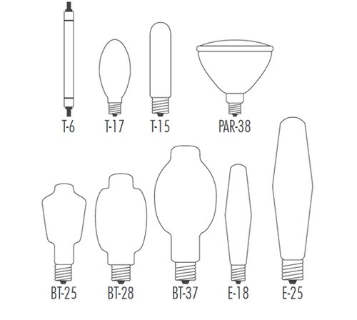 Graphic-Section%2011.6-Typical%20Shapes%20HPS%20Lamps.bmp